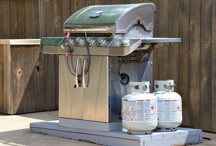 a Propane Tank to a Grill