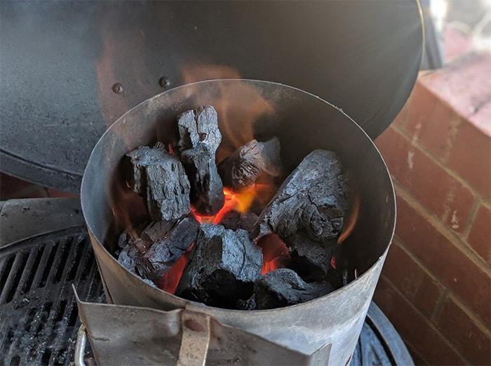 Choose briquette over lump charcoal