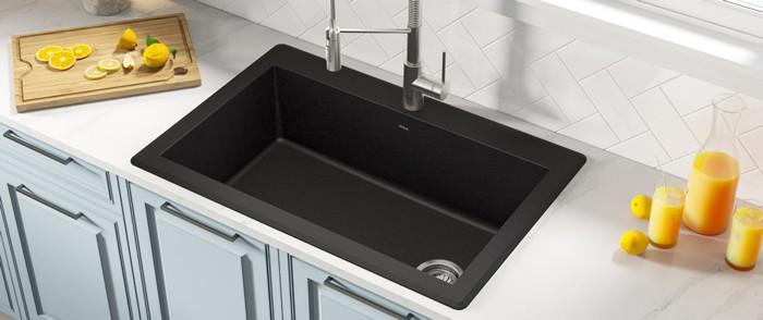 Top-mount sinks
