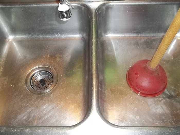 Use your sink plunger